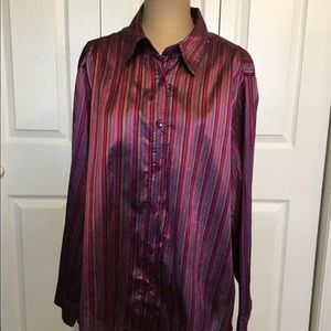 Bright Iridescent Shirt from Coldwater Creek